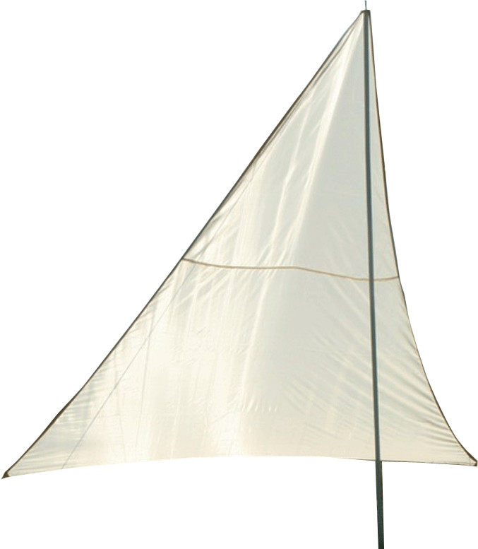 Floracord Dreiecksonnensegel 3 x 3 x 2,5 m