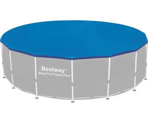 bestway frame pool abdeckung 457 cm 58134 ab 15 01 preisvergleich bei. Black Bedroom Furniture Sets. Home Design Ideas
