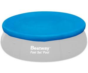 Bestway abdeckplane fast set 549 cm 58073 ab 39 95 for Poolplane 549