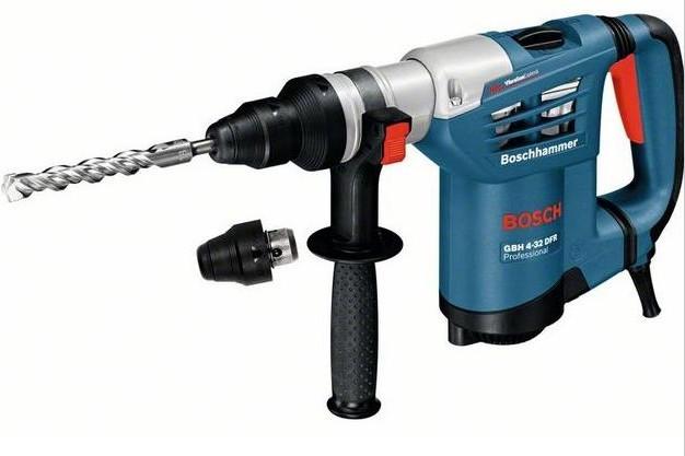 Bosch GBH 4-32 DFR Professional mit Schnellspannbohrfutter + L-BOXX (0 611 332 104)