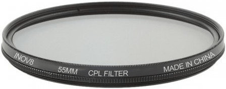 Image of Inov8 Circular Polarising 55mm Filter