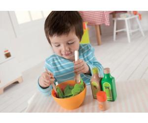 Hape E3116 Geräte Gartensalat Set 36 teilig Kleinkindspielzeug