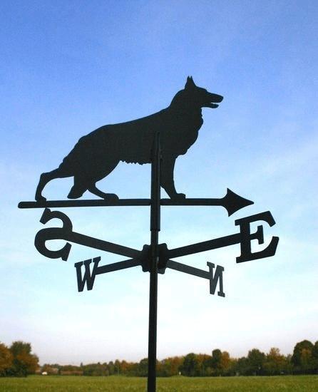 SvenskaV Wetterfahne Schäferhund