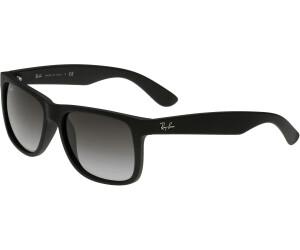 42e62bd1dccf45 Ray-Ban Justin RB4165 601 8G (black rubber gradient grey) ab 64,99 ...