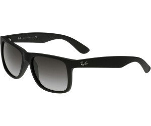 d26913489b Buy Ray-Ban Justin RB4165 601 8G (black rubber gradient grey) from ...