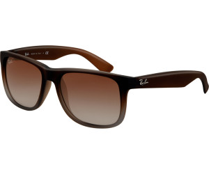 28ca2b605b005 Buy Ray-Ban Justin RB4165 854 7Z (brown rubber faded transparent ...