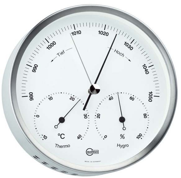 Barigo Wetterstation Barometer-Thermometer-Hygr...