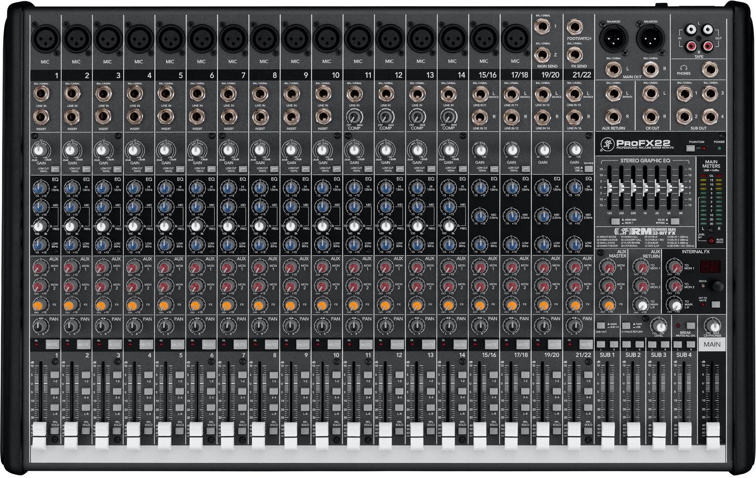 MACKIE - PROFX22 V2