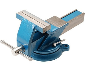Schraubstock 125 mm Backenbreite aus Stahl Stahl-Schraubstock