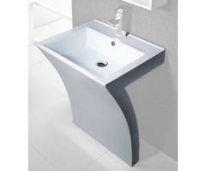 cornat design waschbecken seven 55 5 x 49 cm ab 350 99 preisvergleich bei. Black Bedroom Furniture Sets. Home Design Ideas