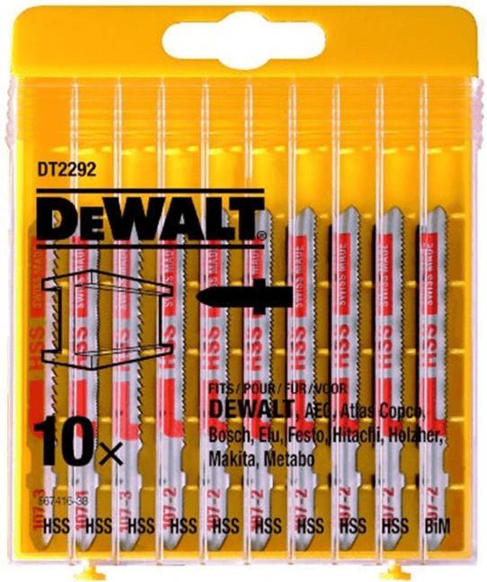 DeWalt HSS-Stichsägeblatt-Set (10-tlg.) (DT2292)