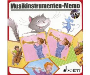 Musikinstrumenten-Memo