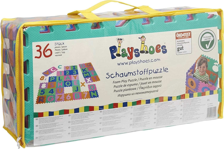 Playshoes EVA-Puzzlematten (36 Teile)