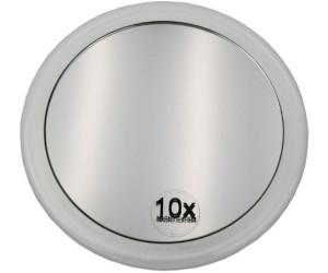Fantasia Spiegel mit Saugnapf Acryl Badspiegel Vergrößerung 10 fach ø 15 cm