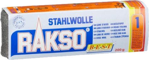 Rakso Stahlwolle 200 g Sorte 1