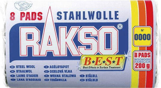 Rakso Stahlwolle Sorte 00 (200 g)