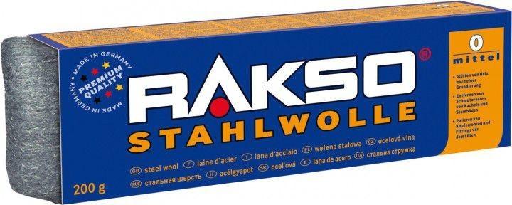 Rakso Stahlwolle 200 g Sorte 000
