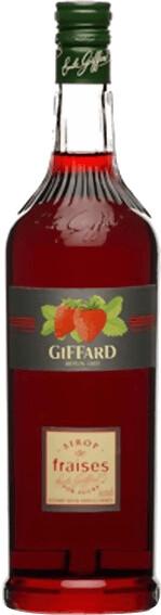 Giffard Erdbeer Sirup 1l
