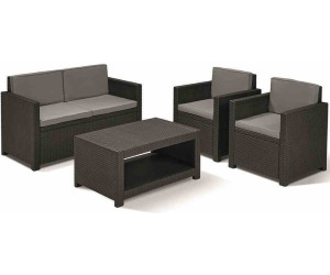 allibert monaco lounge set ab 269 00 preisvergleich. Black Bedroom Furniture Sets. Home Design Ideas
