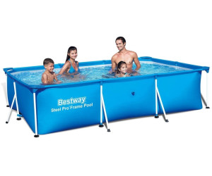bestway deluxe splash frame pool 201 x 300 x 66 cm ab 66 90 preisvergleich bei. Black Bedroom Furniture Sets. Home Design Ideas