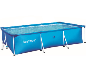 buy bestway 9ft x 6ft deluxe splash frame above ground pool 56043 from compare prices. Black Bedroom Furniture Sets. Home Design Ideas