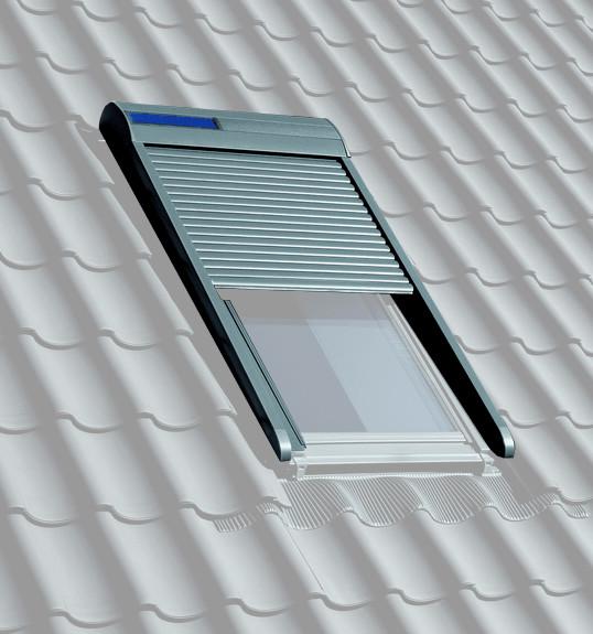 Velux Solar-Rollladen SSL für Fenstergröße S06/606