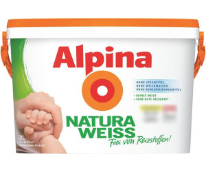 alpina naturaweiss ab 17 73 preisvergleich bei. Black Bedroom Furniture Sets. Home Design Ideas