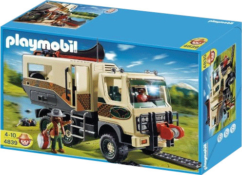 Playmobil Adventure Truck (4839)