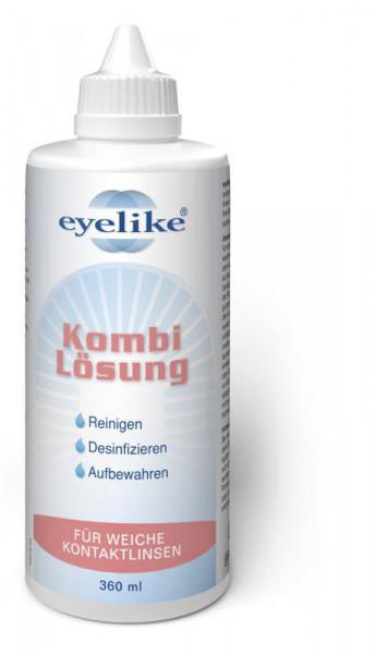 eyelike Kombilösung für weiche Kontaktlinsen (360 ml)