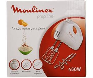 Moulinex HM4101 Prep Line Sbattitore Elettrico a 5 Velocità Potenza 450 W