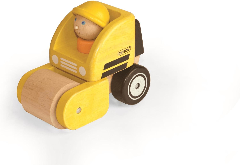 Pintoy Mini-Straßenwalze mit Figur