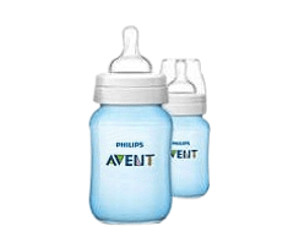 Avent Classic Feeding Bottle 260 ml (Pack of 2)