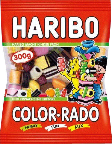 Haribo Color-Rado (300 g)