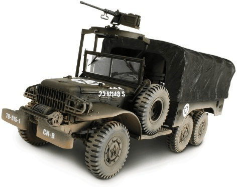 Forces of Valor US 6x6 1.5t Cargo Truck Europea...