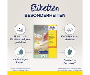 Avery Zweckform L4737REV-100 Universal-Etiketten 63.5 x 29.6 WOW