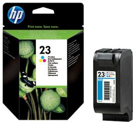 HP Nr. 23 3-farbig (C1823D)