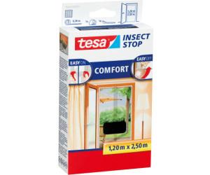 tesa insect stop fliegengitter comfort f r t ren anthrazit 120 x 250 cm ab 9 85. Black Bedroom Furniture Sets. Home Design Ideas
