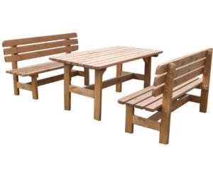 Holz Gartenmöbel Set Preisvergleich ~ Gaspo kitzbühl sitzgruppe 3 teilig kiefer ab 149 00