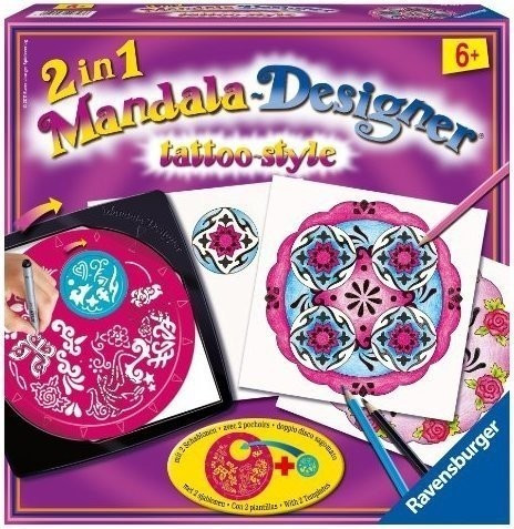 Ravensburger 2in1 Mandala-Designer Tattoo-Style
