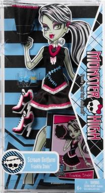 Mattel Monster High Scream Uniform Frankie Stein