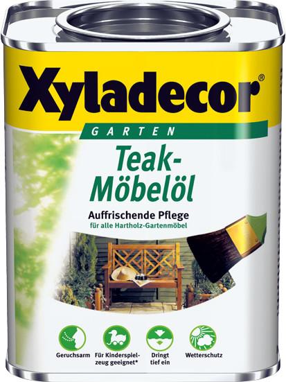 Xyladecor Teak-Möbelöl 750 ml teak