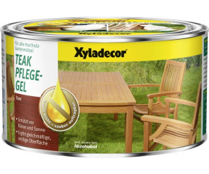 Xyladecor Teak Pflege Gel 500 Ml Ab 850 Preisvergleich Bei
