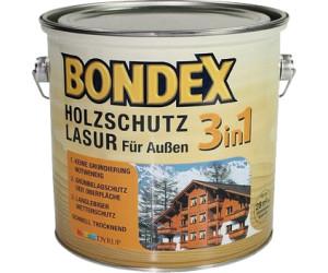 bondex 3in1 holzschutz lasur 2 5 liter verschiedene dekore ab 6 00 preisvergleich bei. Black Bedroom Furniture Sets. Home Design Ideas