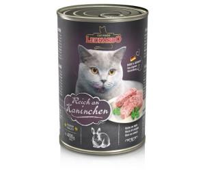 LEONARDO Cat Food Nassfutter Reich an Kaninchen 400g