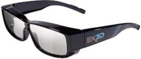 EX3D EX3D1009 Fit Over Brillenträger