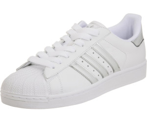 b4289f2ae6df Buy Adidas Superstar 2 white metallic silver from £62.72 – Best ...
