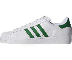 Adidas Superstar 2 blanc/vert au meilleur