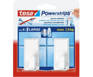 Tesa Powerstrips Haken Large Classic Weiss Ab 317