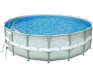 "Intex Frame Swimming Pool Set /""Prism Rondo VII/"",blau,Ø 610 x 132 cm,Inkl."
