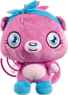 Vivid Moshi Monsters Talking Plush Poppet